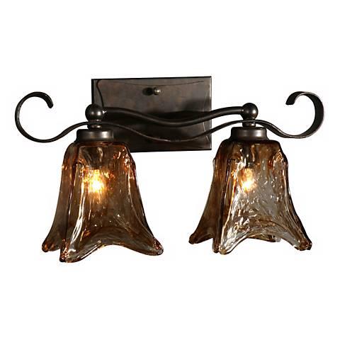 Uttermost Vetraio Collection 17 Wide Bathroom Light Fixture 10761 Lamps Plus