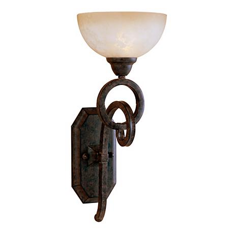 getalo collection bathroom 19 high wall sconce 10929 lamps plus. Black Bedroom Furniture Sets. Home Design Ideas