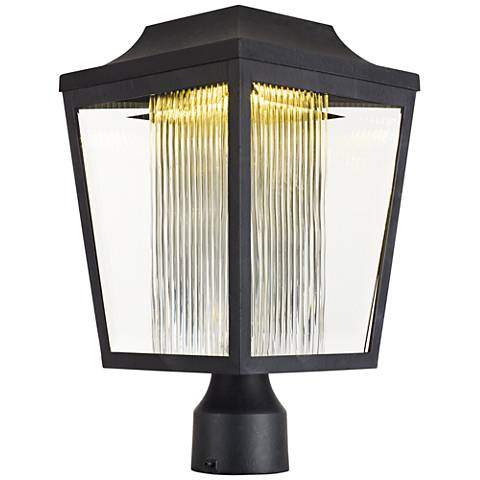 "Maxim Villa 15 1/2"" High Anthracite LED Outdoor Post Light"