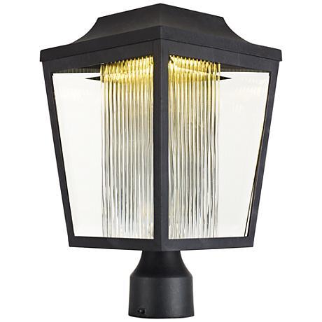 "Maxim Villa 15 1/2"" High Anthracite LED Outdoor Post Light"