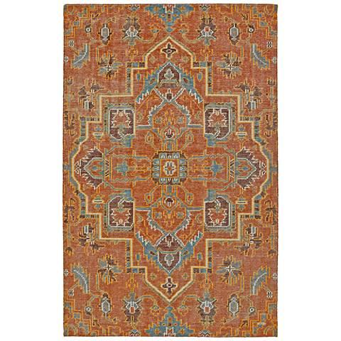 Kaleen Relic Paprika RLC01-53 Wool Area Rug