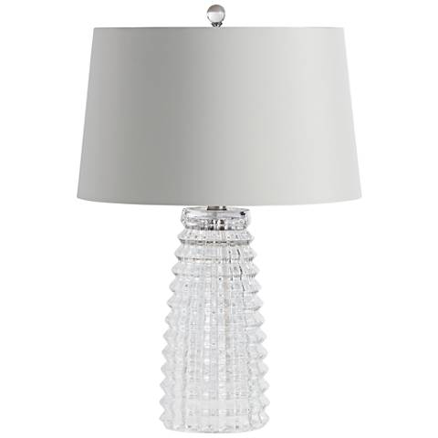 Arteriors Home Baxter Cut Glass Table Lamp