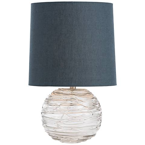 Arteriors Home Anoma Blown Glass Sphere Accent Table Lamp