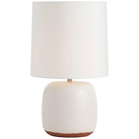 Arteriors Home Alba Ivory Porcelain Table Lamp