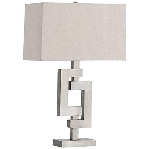Arteriors Home Barnett Geometric Metal Table Lamp