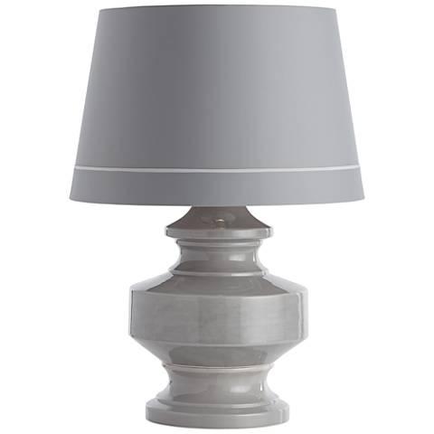 Arteriors Home Bethany Gray Porcelain Jug Table Lamp