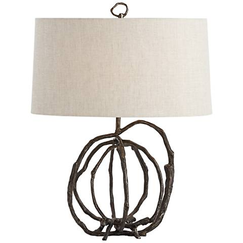 Arteriors Home Patrice Natural Cast Iron Accent Table Lamp