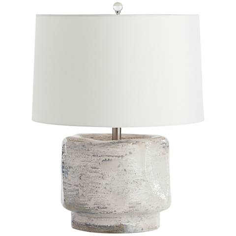 Arteriors Home Cainan Organic Ceramic Jug Accent Table Lamp