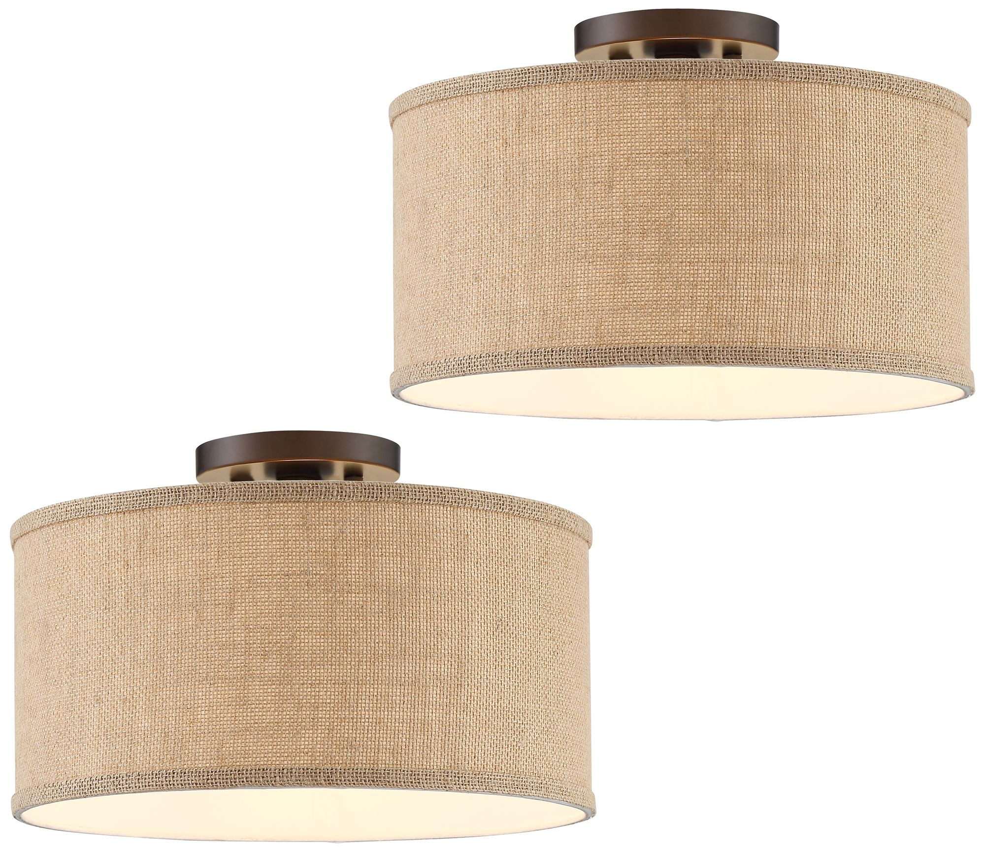 Traditional SemiFlushmount Ceiling Lights Lamps Plus