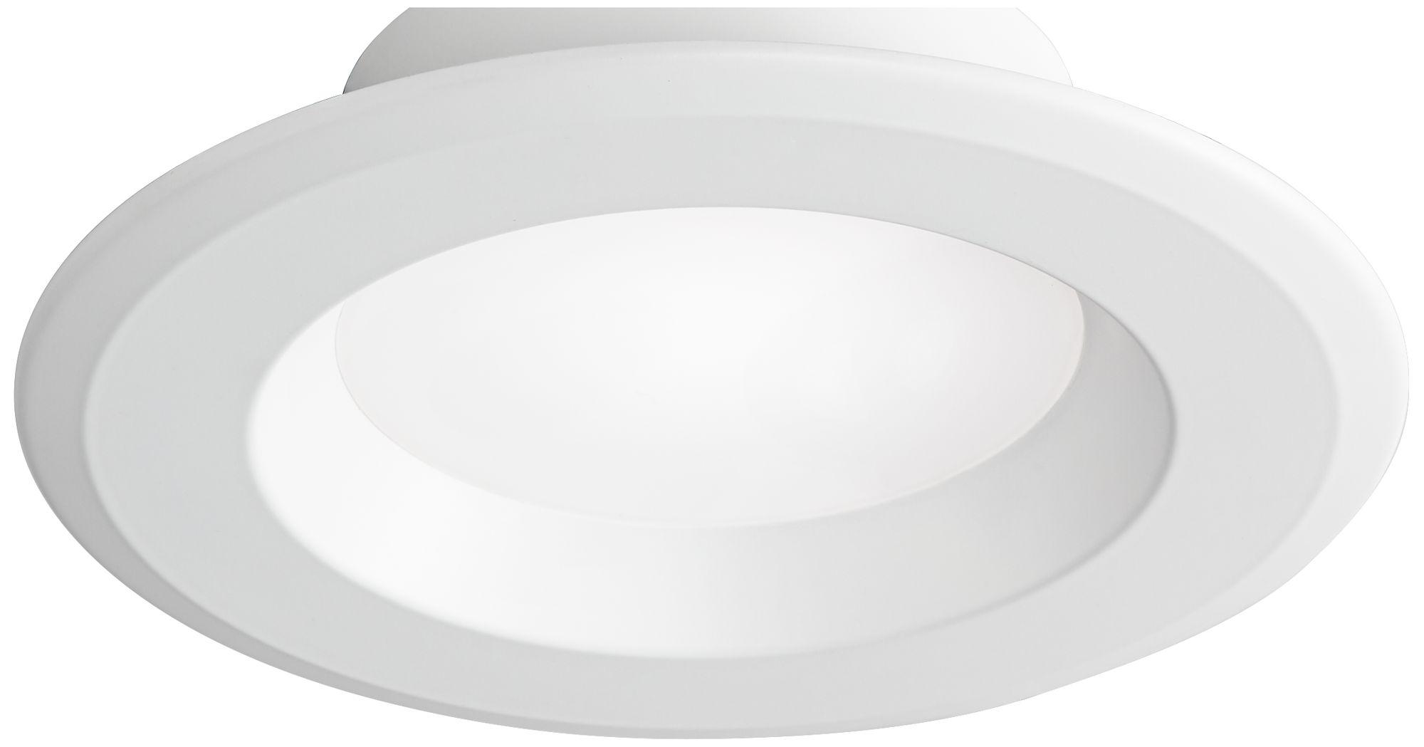 5/6  White 15 Watt Dimmable LED Retrofit Trim  sc 1 st  L&s Plus & Tesler Recessed Lighting | Lamps Plus azcodes.com
