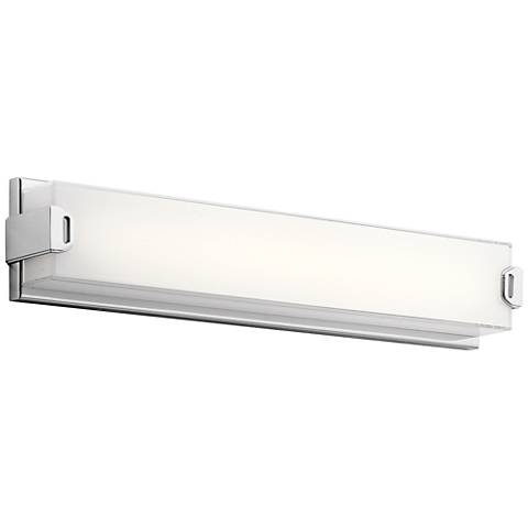 "Elan Xeo 24 1/4"" Wide Chrome LED Bath Light"