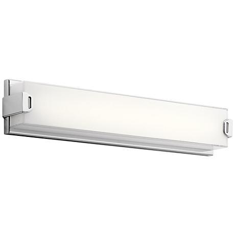 "Elan Xeo 24 1/4"" Wide Chrome LED Bath Light"