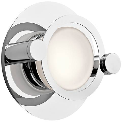 "Elan Portal 9"" High Chrome LED Wall Sconce"