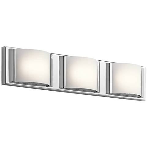 "Elan Bretto 22 1/2"" Wide Chrome LED Bath Light"