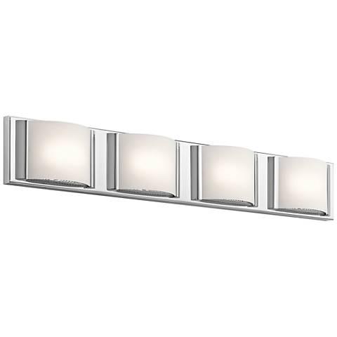 "Elan Bretto 30"" Wide Chrome LED Bath Light"