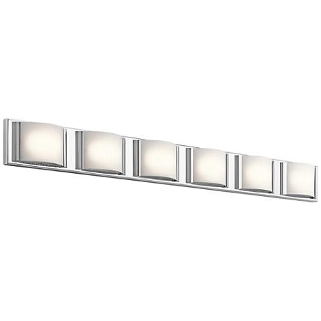 "Elan Bretto 44 3/4"" Wide Chrome LED Bath Light"