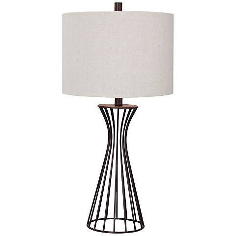 Webster Oil Rubbed Bronze Metal Table Lamp