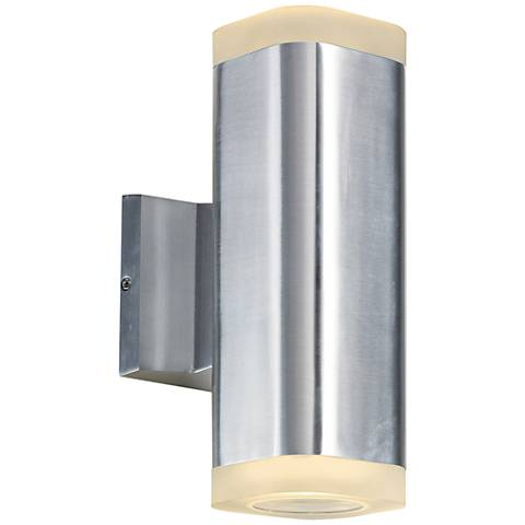 "Lightray 10 1/4"" High Square Aluminum LED Outdoor Wall Light"