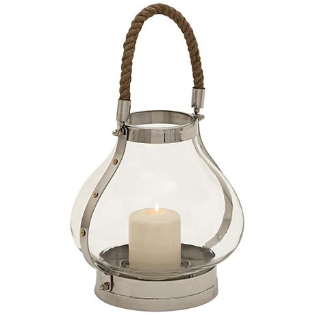 Duleen Glass Lantern Candle Holder
