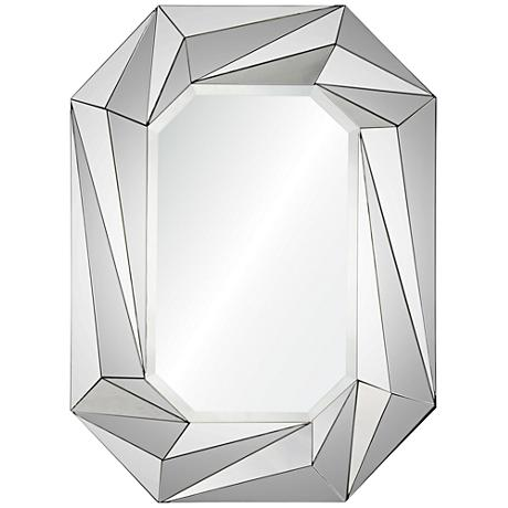 """Lowell Prism Beveled 28""""x36"""" Wall Mirror"""