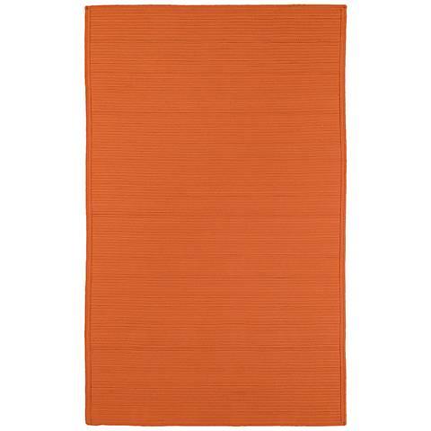 Kaleen Bikini 3020-89 Orange Outdoor Area Rug