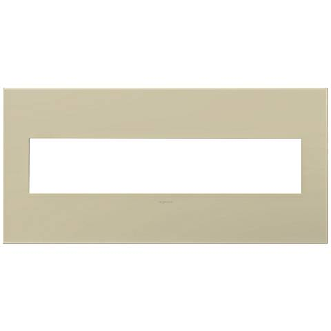 adorne® Ashen Tan 5-Gang Snap-On Wall Plate