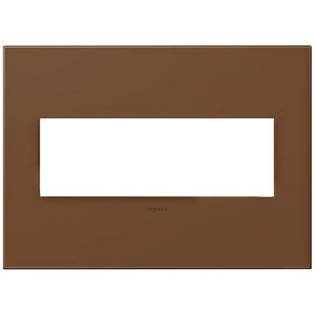 adorne® Cappuccino 3-Gang Snap-On Wall Plate
