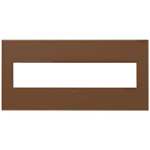 adorne® Cappuccino 5-Gang Snap-On Wall Plate