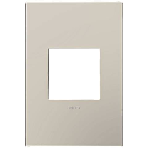 adorne® Greige 1-Gang Snap-On Wall Plate