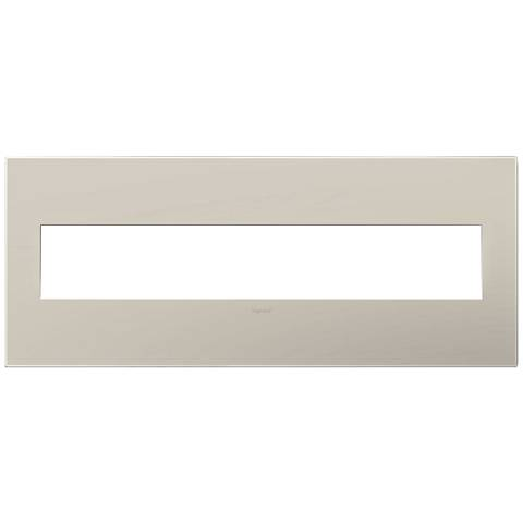 adorne® Greige 6-Gang Snap-On Wall Plate