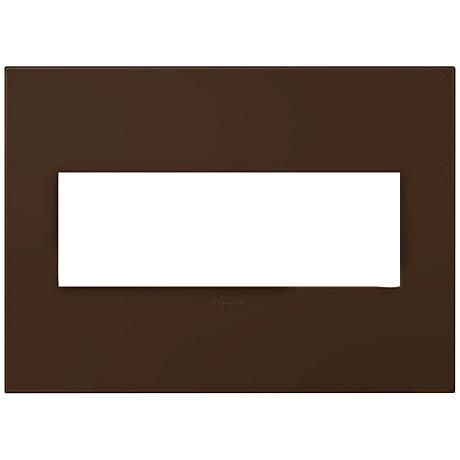 adorne® Truffle 3-Gang Snap-On Wall Plate