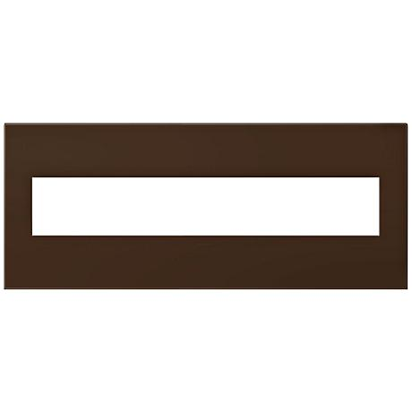 adorne® Truffle 6-Gang Snap-On Wall Plate