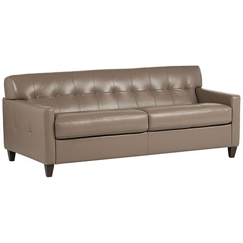 "Digio Hera 80"" Wide Brown Sofa Bed"