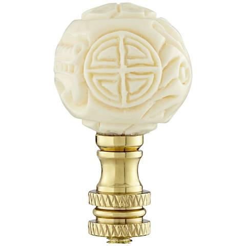 Long Life Bead Lamp Shade Finial