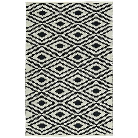 Kaleen Brisa BRI02-02 Black Outdoor Area Rug
