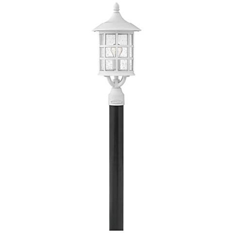 """Hinkley Freeport 20 1/4""""H Classic White Outdoor Post Light"""