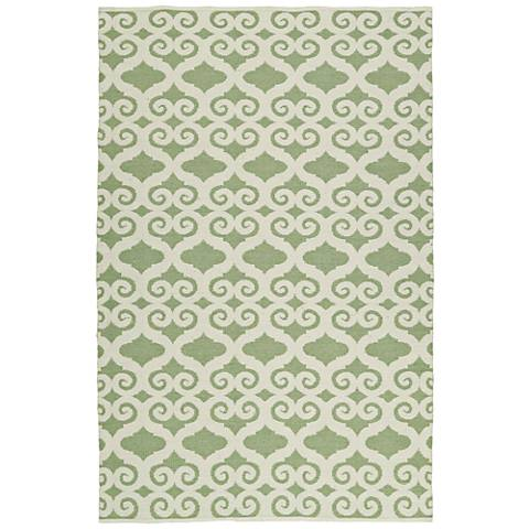Kaleen Brisa BRI03-50 Green Outdoor Area Rug