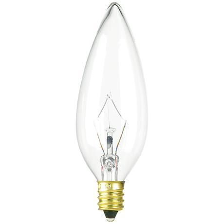 60 Watt Blunt Tip Candelabra Bulb