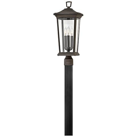 """Bromley 22 1/2"""" High Oil Rubbed Bronze Outdoor Post Light"""