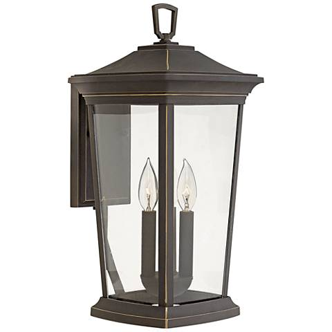 "Hinkley Bromley 19""H Oil Rubbed Bronze Outdoor Wall Light"