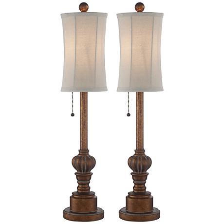 Bertie Tall Buffet Table Lamps