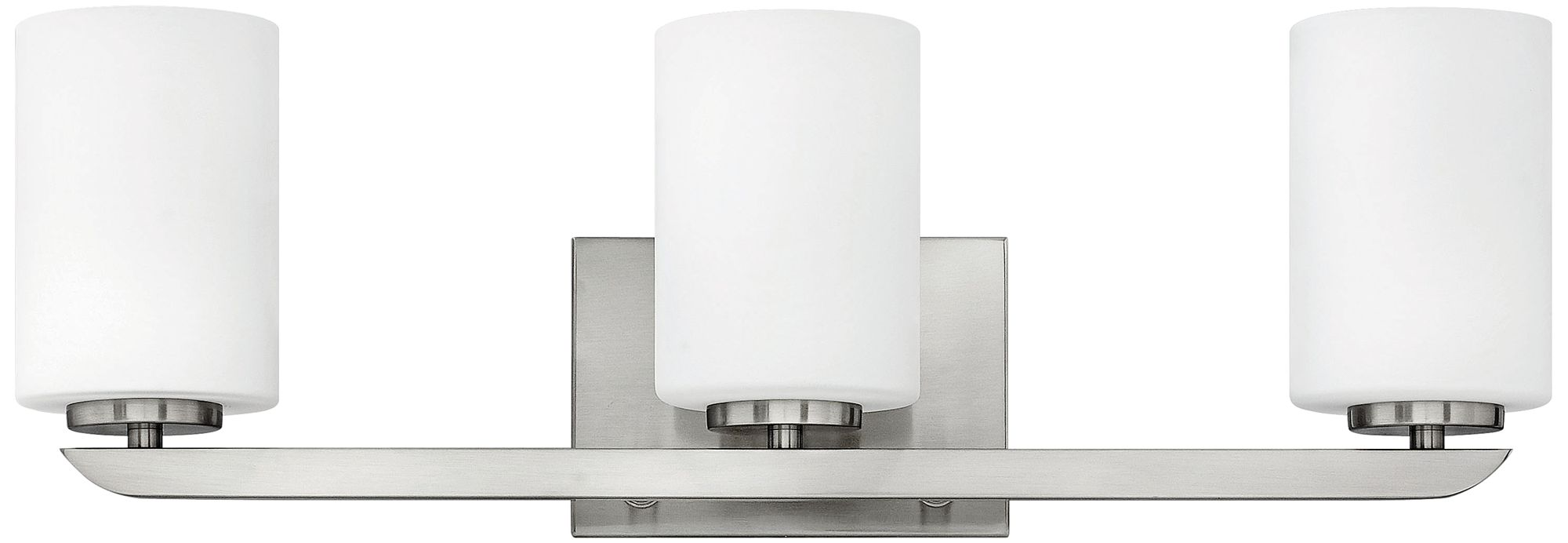Hinkley Kyra 24  Wide Brushed Nickel 3-Light Bath Light  sc 1 st  L&s Plus & Hinkley Bathroom Lighting   Lamps Plus azcodes.com