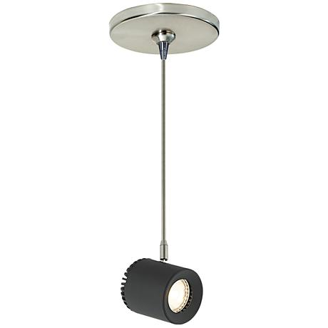 Tech Lighting Burk Black LED Freejack Mini Pendant