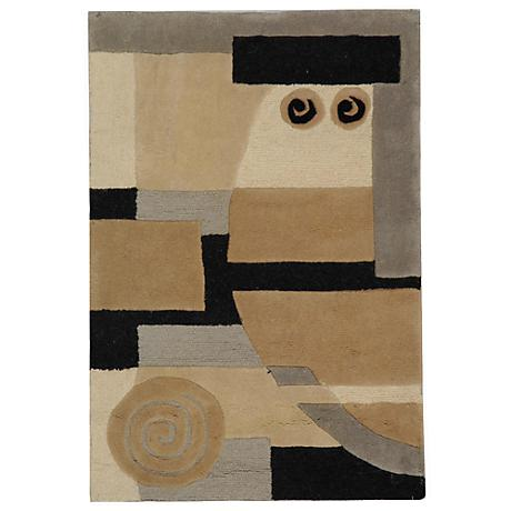 Exquisite Collection Multicolor Area Rug