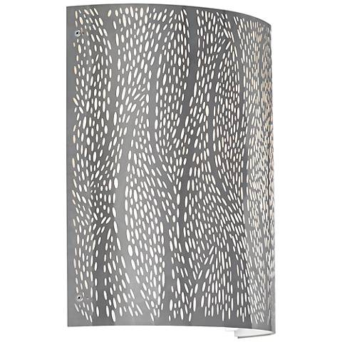 "LBL Rami 11"" High Stainless Steel LED Wall Sconce"