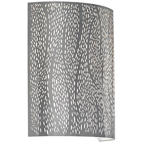 """LBL Rami 11"""" High Stainless Steel LED Wall Sconce"""