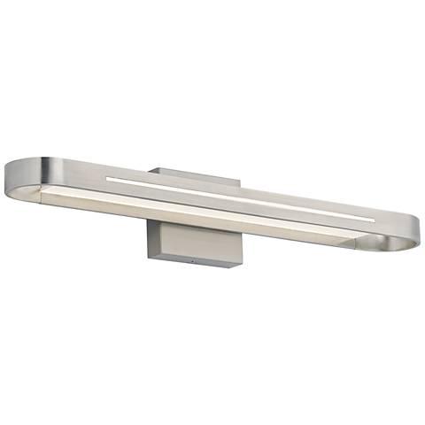 """LBL Ventura 24"""" Wide Satin Nickel LED Bath Light"""