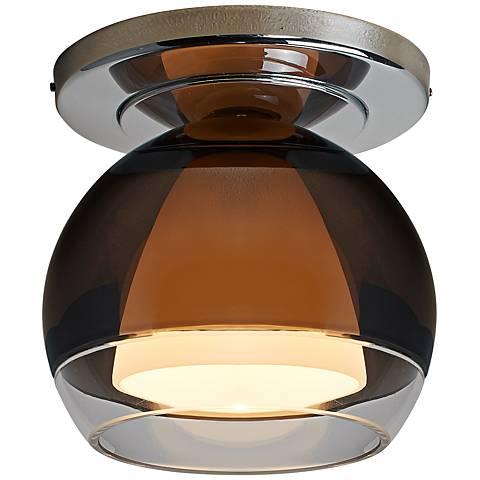 """Bruck Matrix 4 3/4""""W Chrome LED Ceiling Light"""