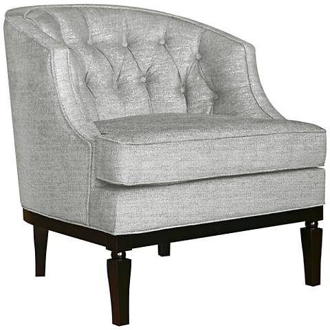 Colonnade Dark Taupe Spindle Accent Chair 10g12 Lamps