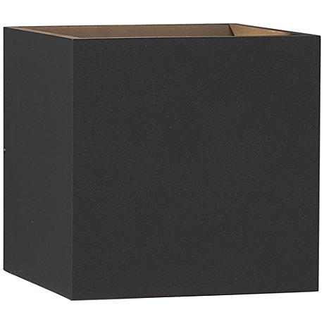 """Bruck QB 5 1/4"""" High Anthracite Outdoor LED Wall Light"""